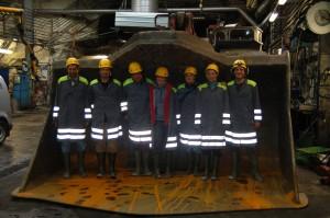Kiirunavaara iron mine (N Sweden)