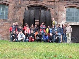 in front of the Anseln mine
