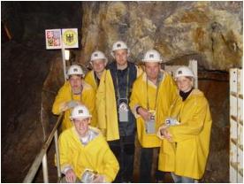 Cínovec mine, June 2005