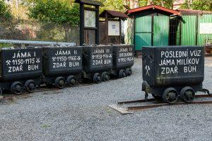 vozíky u štoly Prokop, Stříbro